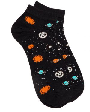 space ankle socks