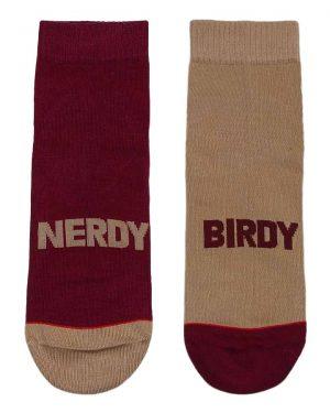 nerdy birdy socks